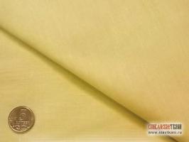 Поплин, хлопок, цвет светло-жёлтый, ширина 220 см