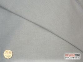 Поплин, хлопок, цвет светло-серый, ширина 220 см