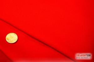 Хлопок, саржа, цвет красный, ширина 150 см