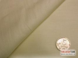 Сатин, хлопок,  цвет кремово-жёлтый, ширина 220 см