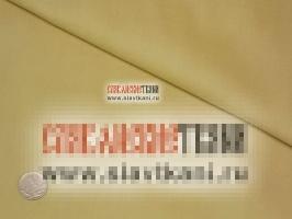 Сатин, хлопок,  цвет светло-шафрановый, ширина 250 см