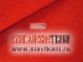 Лён, цвет красный, ширина 150 см