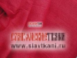 Лён, цвет малиново-красный, ширина 150 см