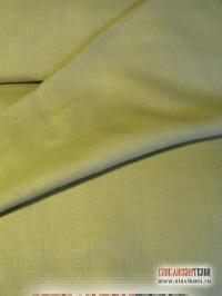 Лён, цвет светлый жёлто-зелёный (кукурузный), ширина 150 см