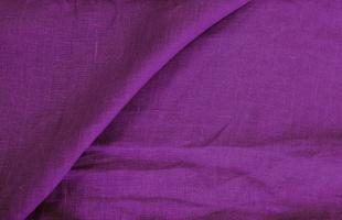 Лён, цвет Тёмный пурпурно-фиолетовый , ширина 150 см