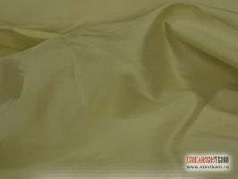 Шёлк, светло-жёлтый, ширина 135 см