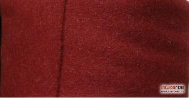 Шинельное сукно, цвет тёмно-красный, ширина 150 см