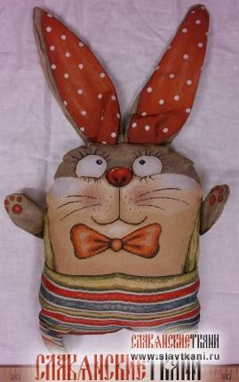 """Подушка с наполнителем, гобелен, рисунок """"Два весёлых гуся"""", 45х63 см"""