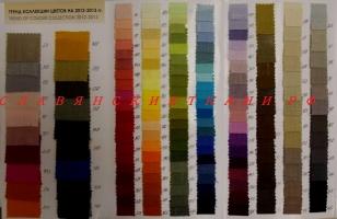 Лён, карта цветов белорусского льна, ширина 150, 180, 220 см